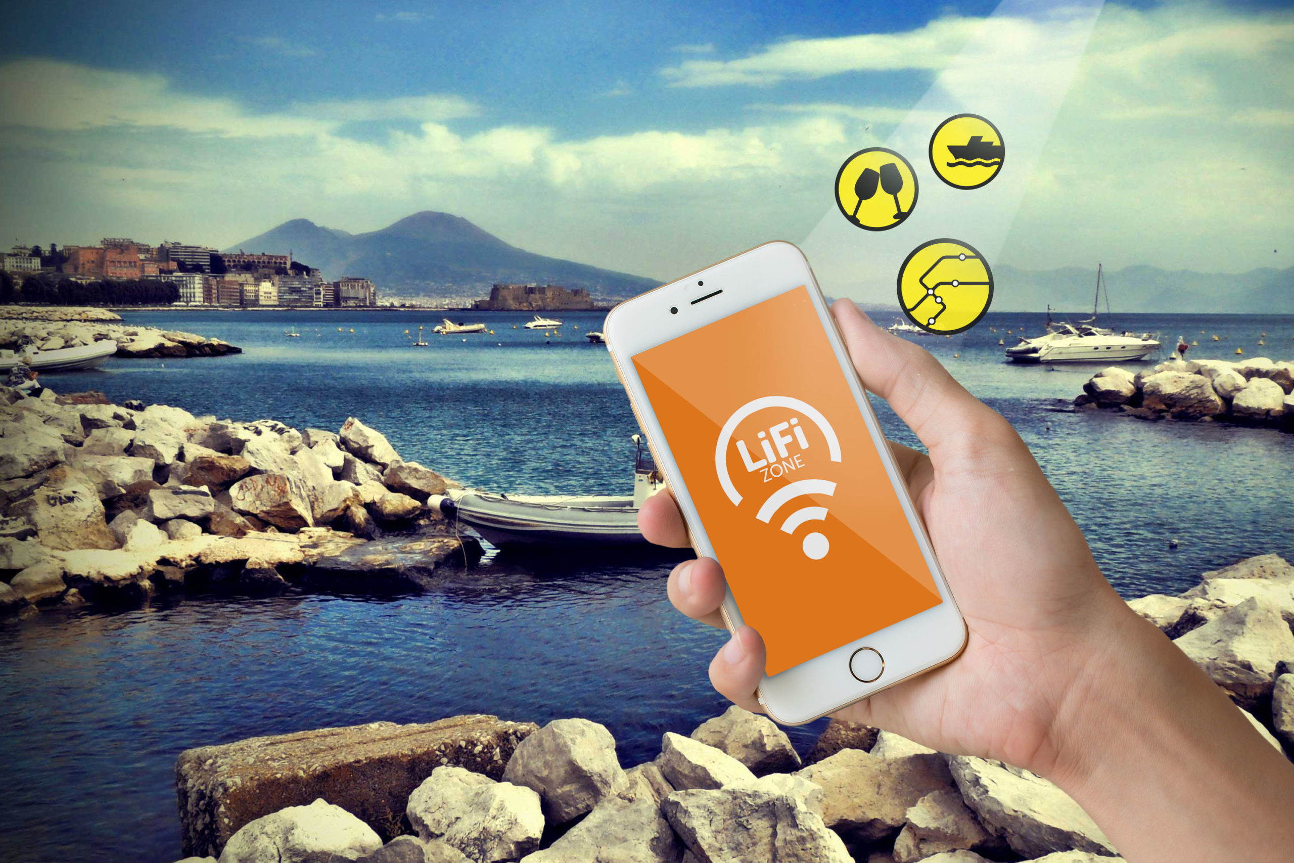 LiFi Zone Napoli and Vesuvius