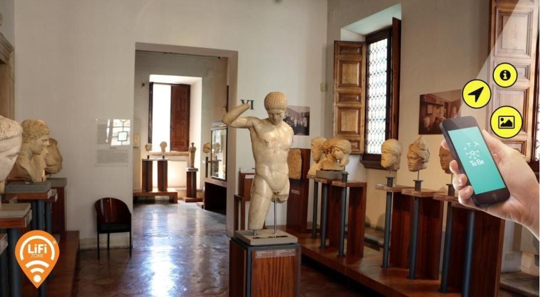 LiFi-Museo Barracco-Roma